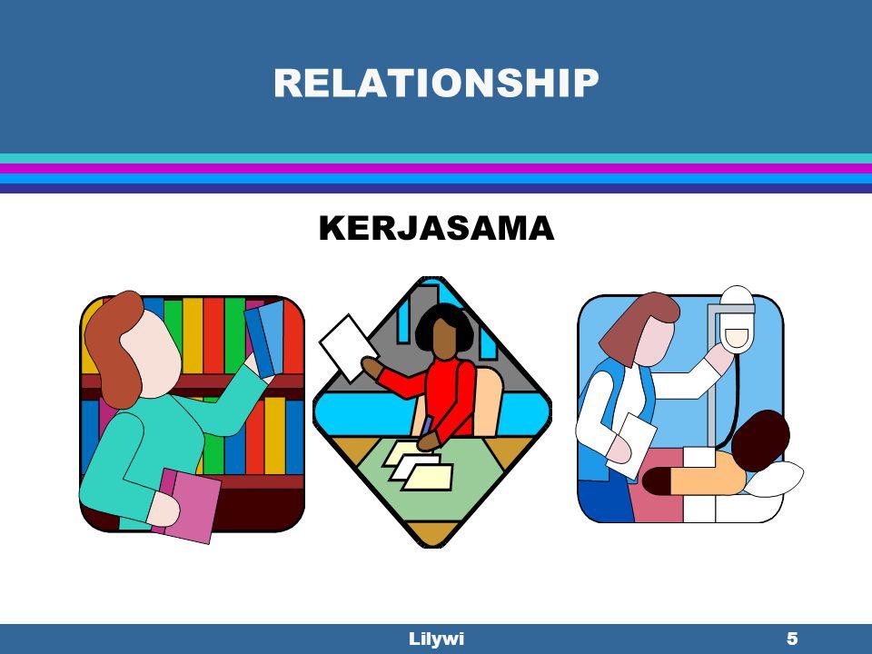 RELATIONSHIP KERJASAMA Lilywi