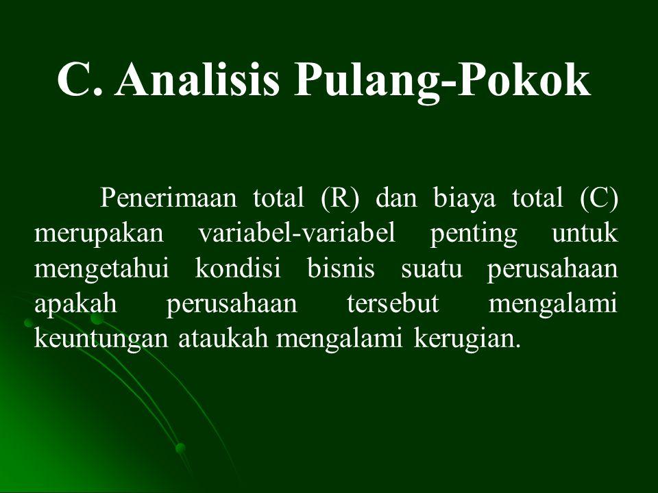 C. Analisis Pulang-Pokok