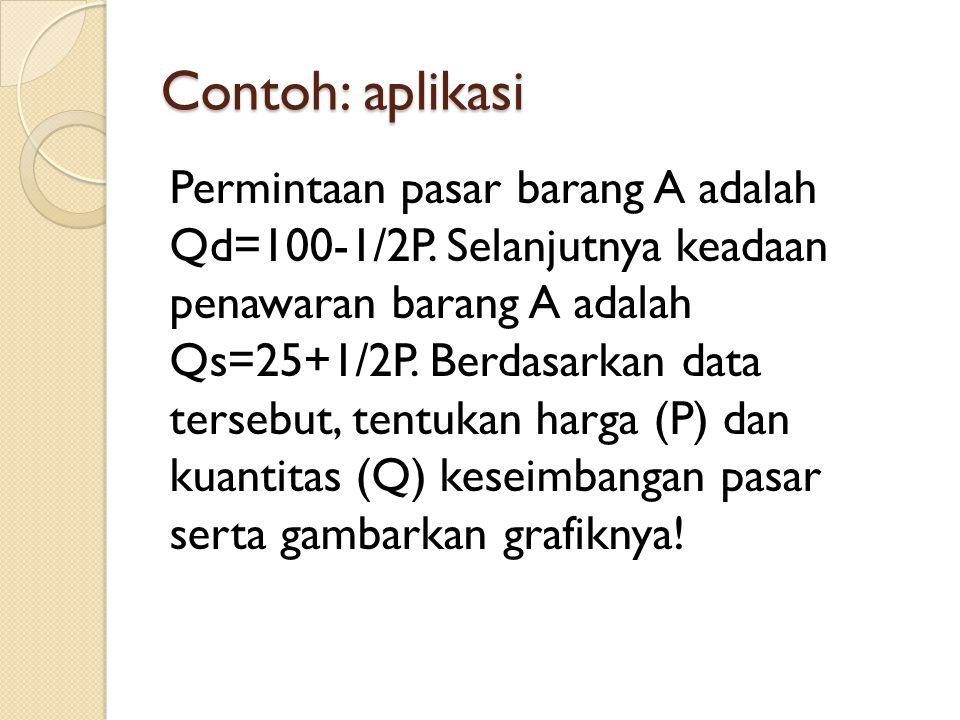 Contoh: aplikasi