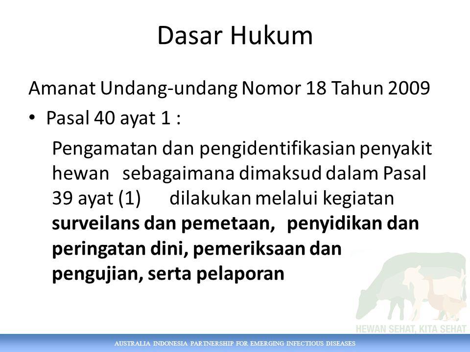 Dasar Hukum Amanat Undang-undang Nomor 18 Tahun 2009 Pasal 40 ayat 1 :