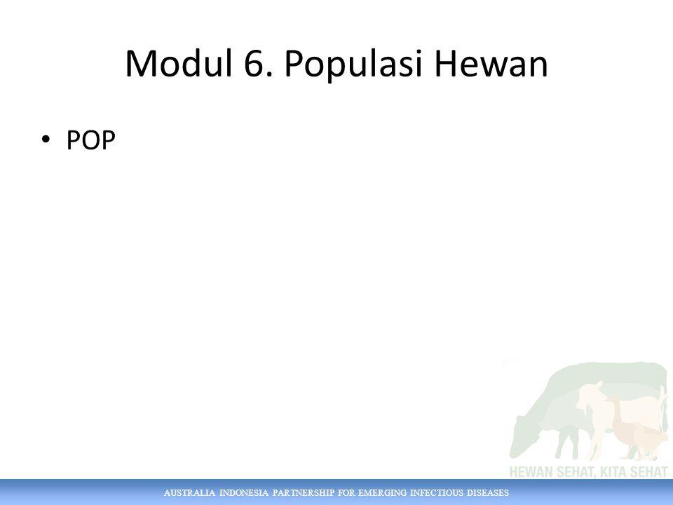Modul 6. Populasi Hewan POP