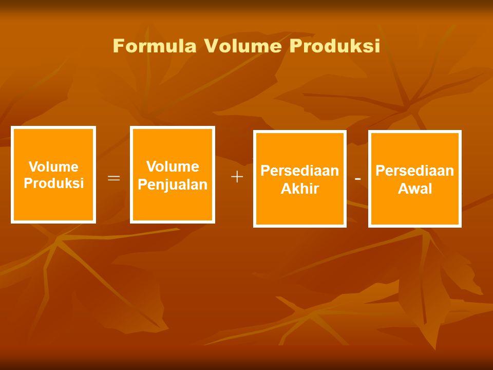 Formula Volume Produksi