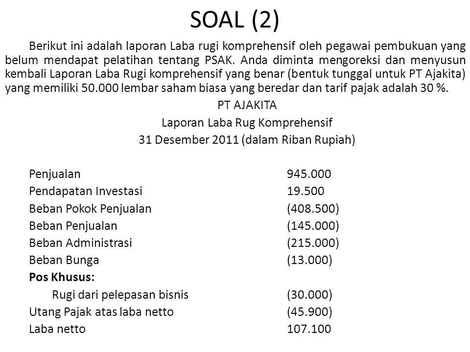 SOAL (2)