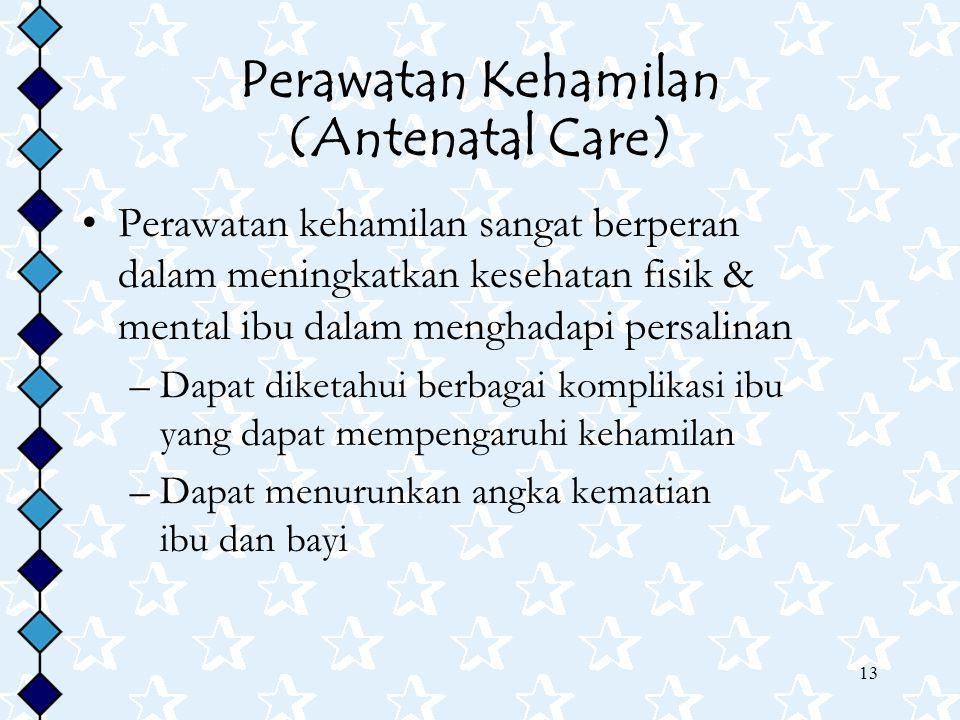 Perawatan Kehamilan (Antenatal Care)