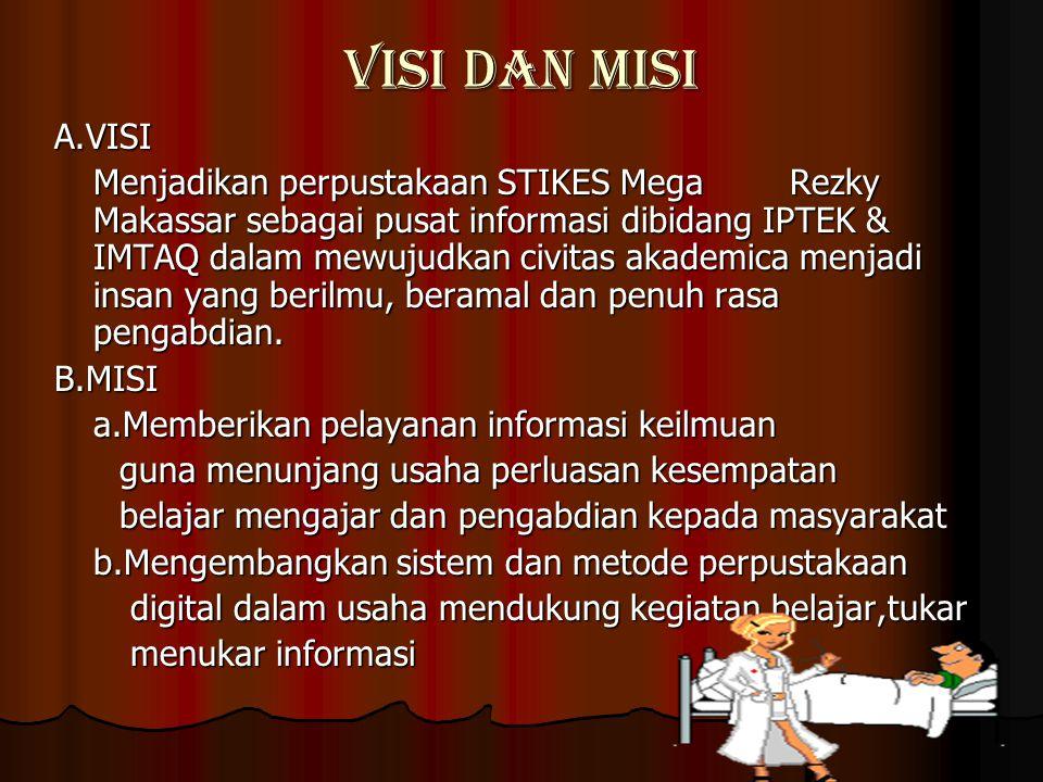VISI DAN MISI A.VISI.