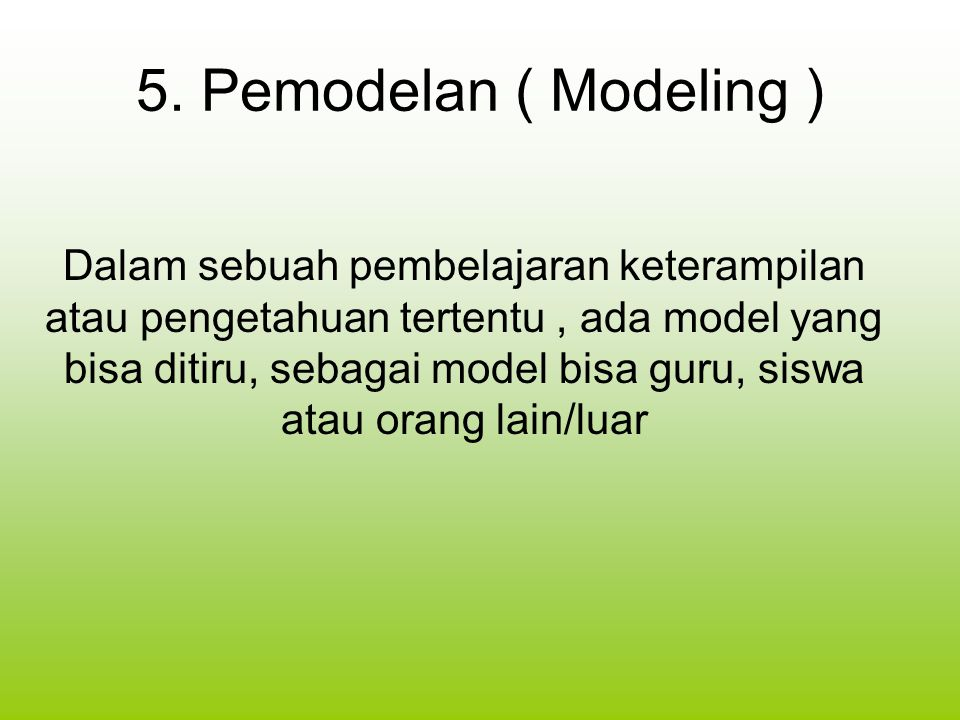 10 April 2017 5. Pemodelan ( Modeling )