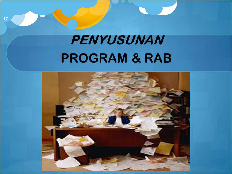 PENYUSUNAN PROGRAM & RAB