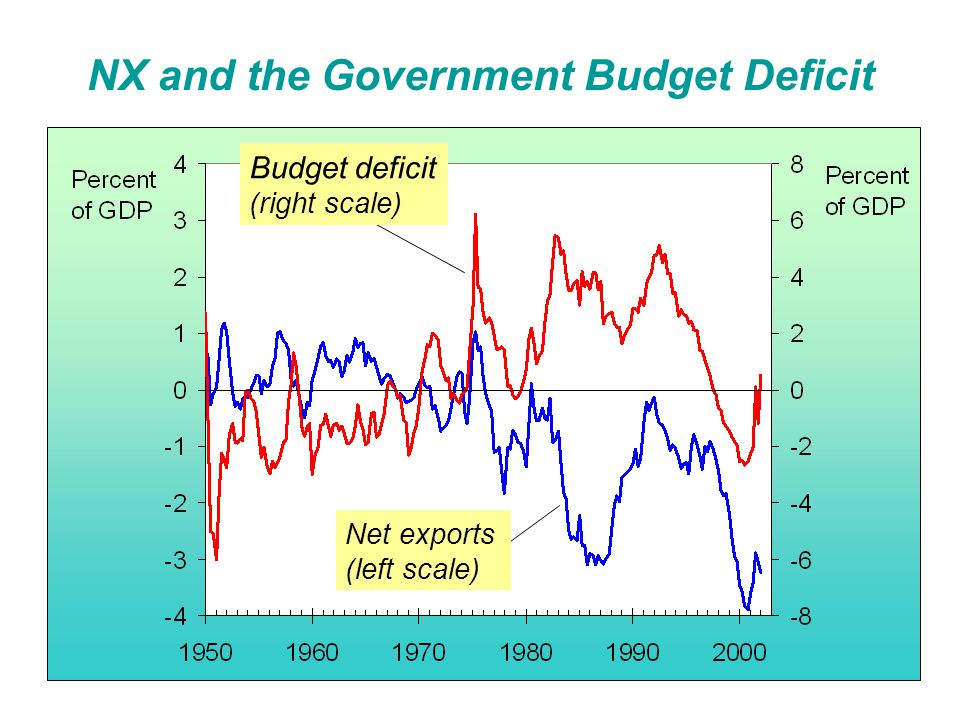 NX and the Government Budget Deficit