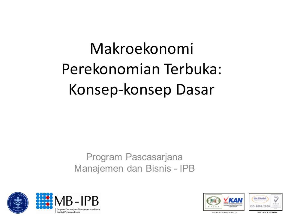 Makroekonomi Perekonomian Terbuka: Konsep-konsep Dasar