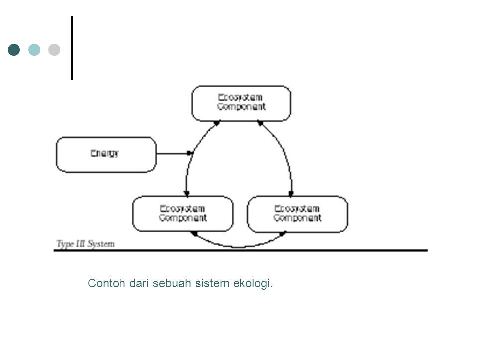 Contoh dari sebuah sistem ekologi.
