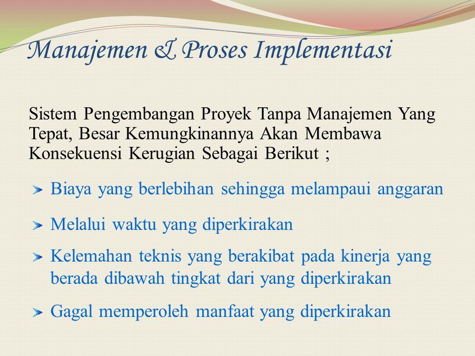 Manajemen & Proses Implementasi