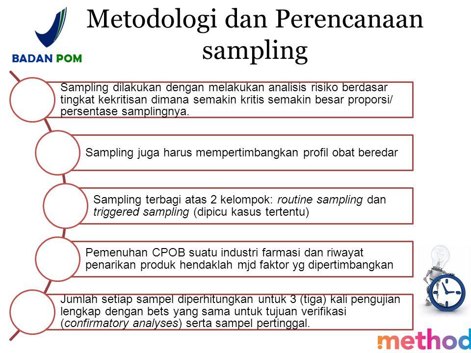 Metodologi dan Perencanaan sampling
