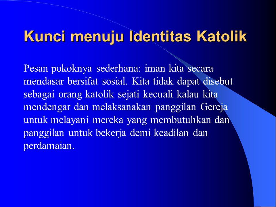 Kunci menuju Identitas Katolik