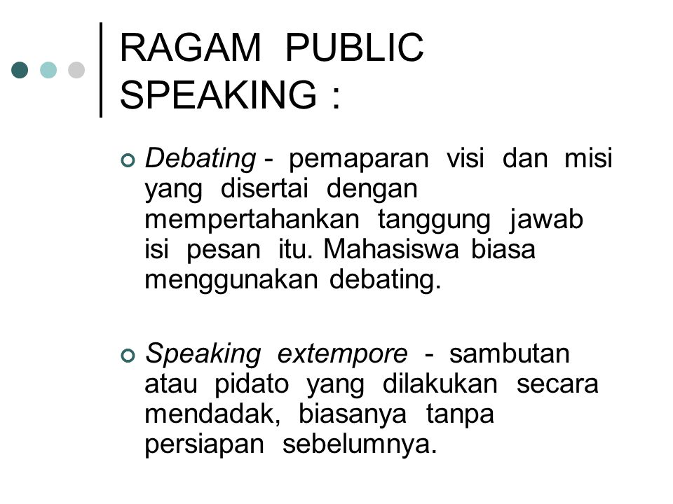 RAGAM PUBLIC SPEAKING :