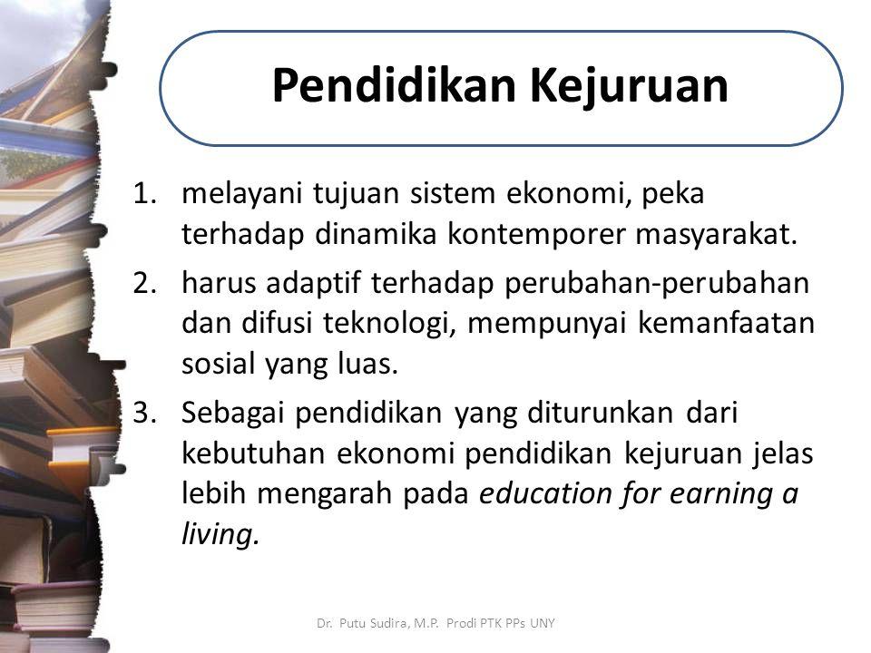 Dr. Putu Sudira, M.P. Prodi PTK PPs UNY