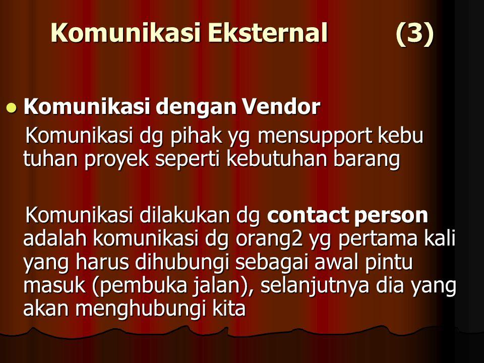Komunikasi Eksternal (3)