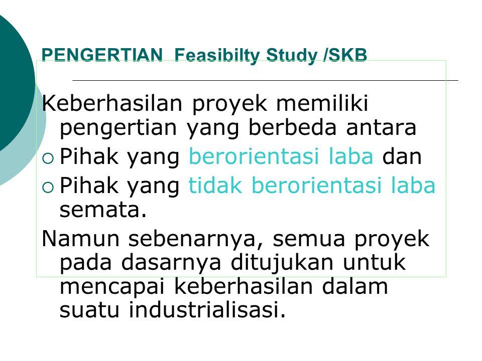 PENGERTIAN Feasibilty Study /SKB