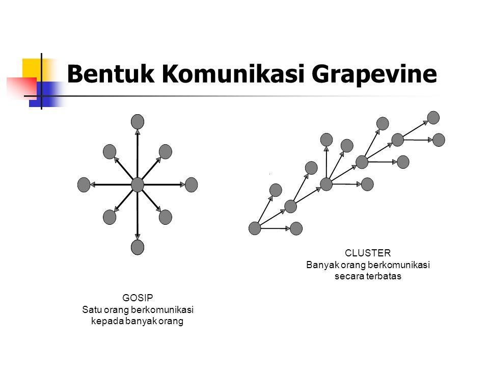 Bentuk Komunikasi Grapevine