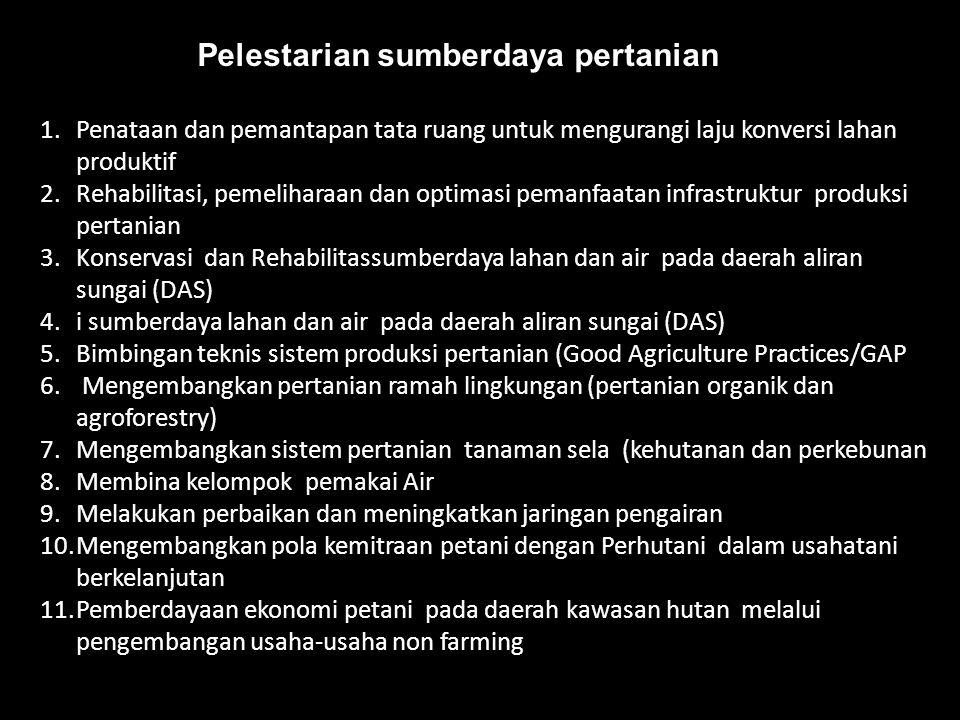 Pelestarian sumberdaya pertanian