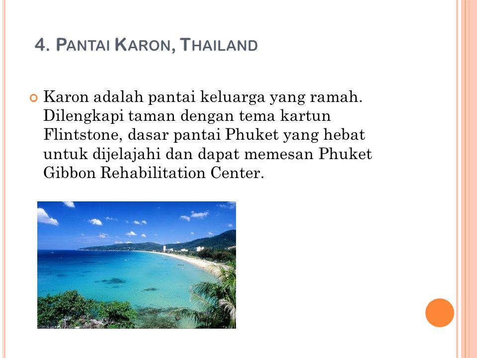 4. Pantai Karon, Thailand