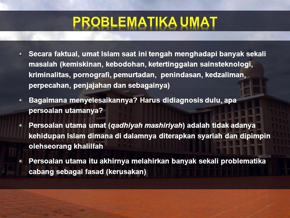 PROBLEMATIKA UMAT