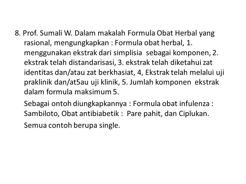 8. Prof. Sumali W.