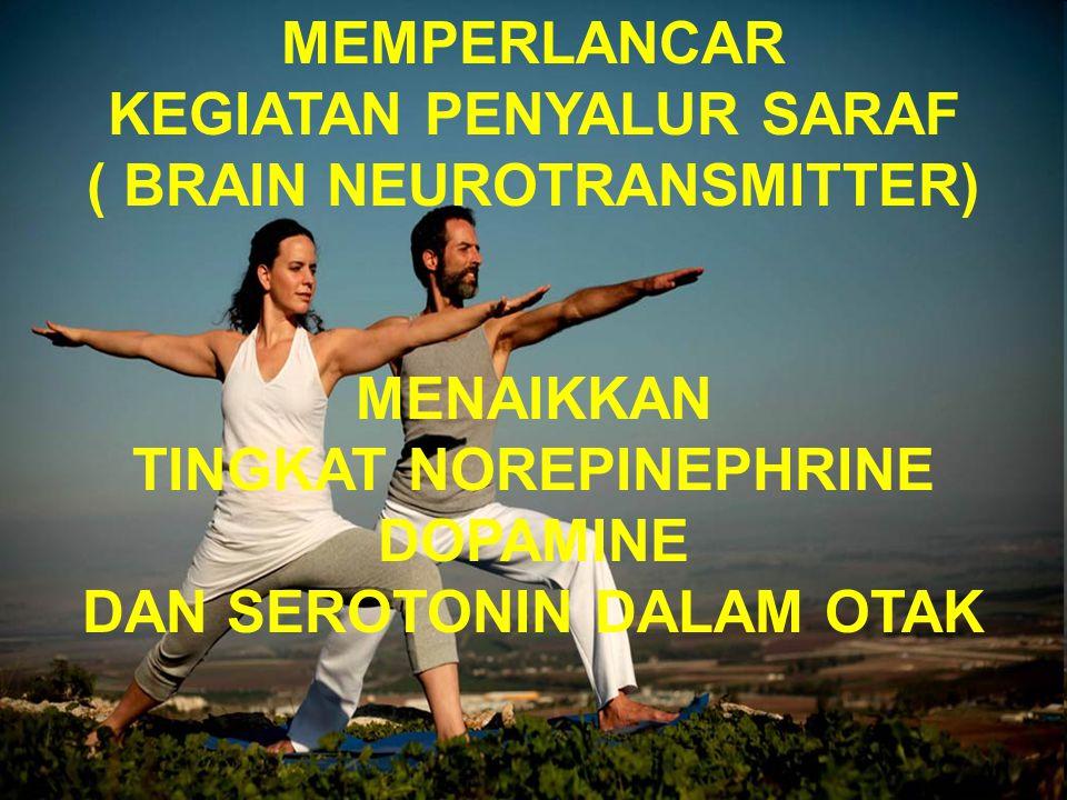 KEGIATAN PENYALUR SARAF ( BRAIN NEUROTRANSMITTER)