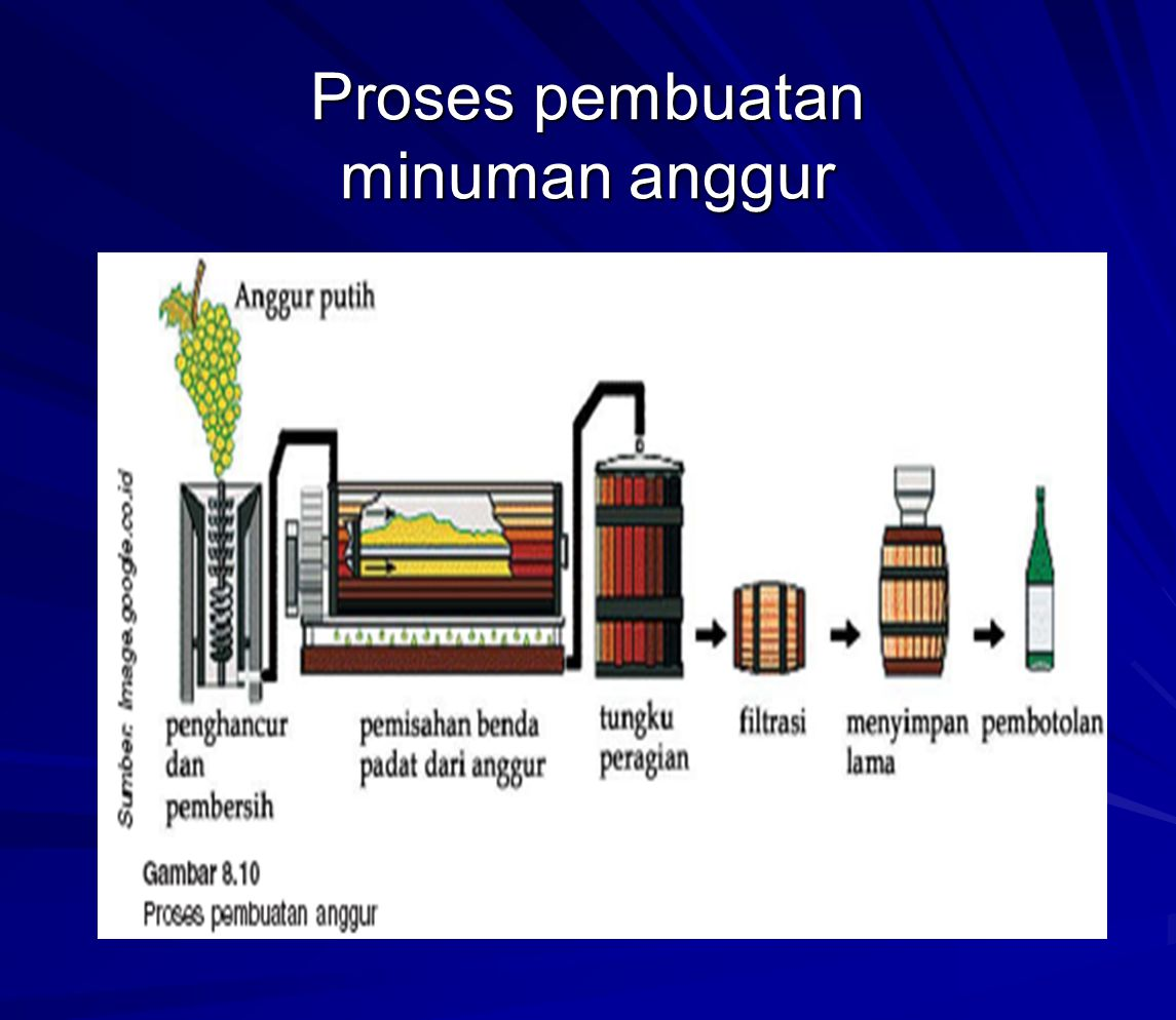 Proses pembuatan minuman anggur