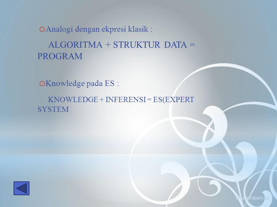 ALGORITMA + STRUKTUR DATA = PROGRAM