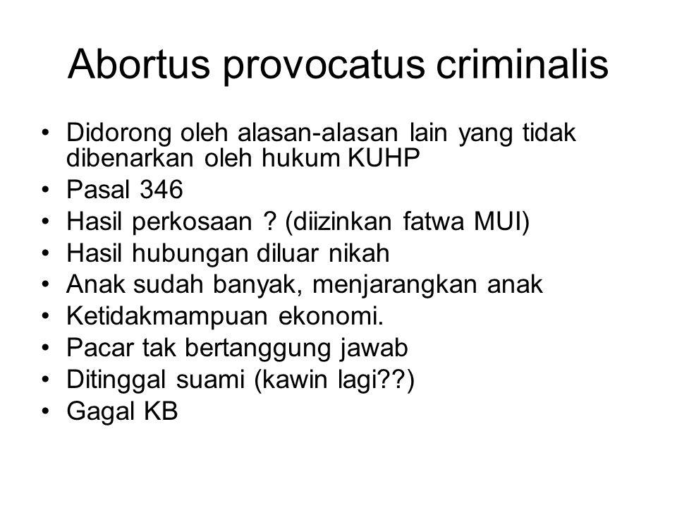 Abortus provocatus criminalis