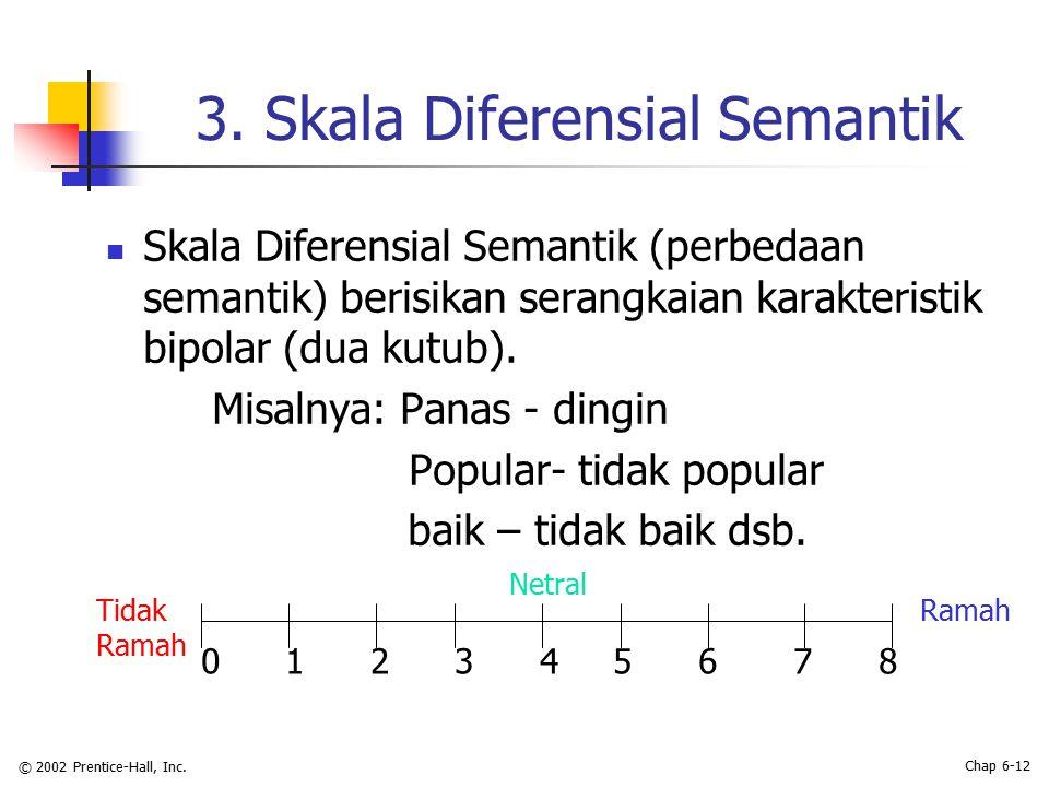 3. Skala Diferensial Semantik