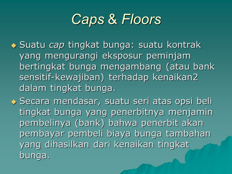 Caps & Floors