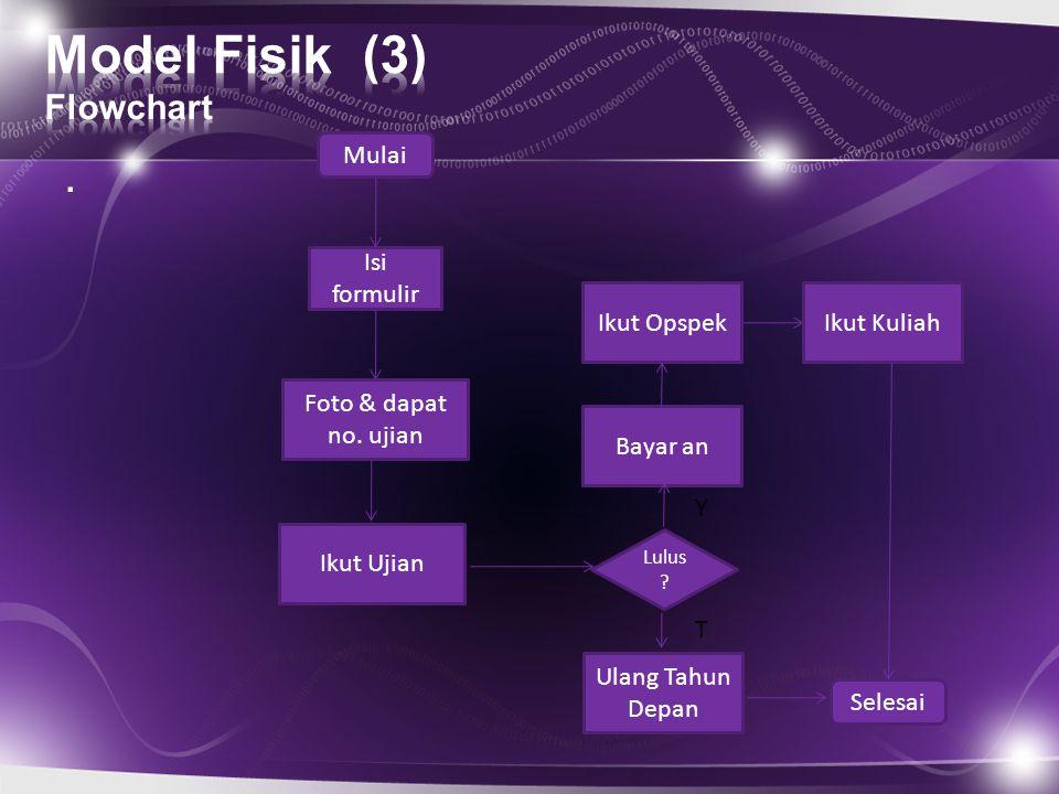 Model Fisik (3) Flowchart