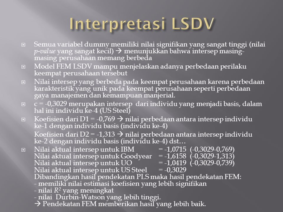Interpretasi LSDV