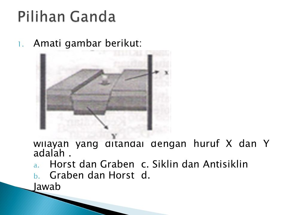 Pilihan Ganda Amati gambar berikut: