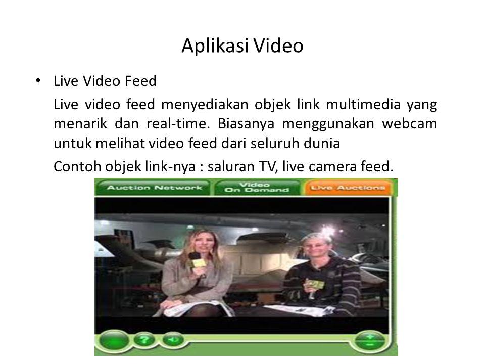 Aplikasi Video Live Video Feed