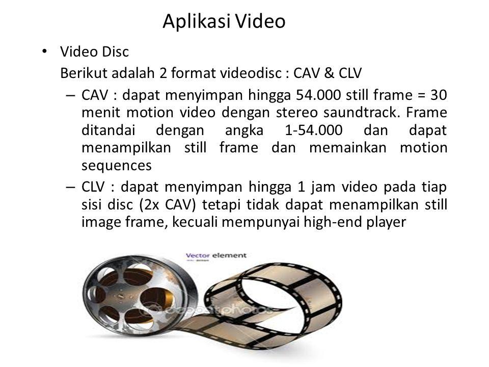 Aplikasi Video Video Disc