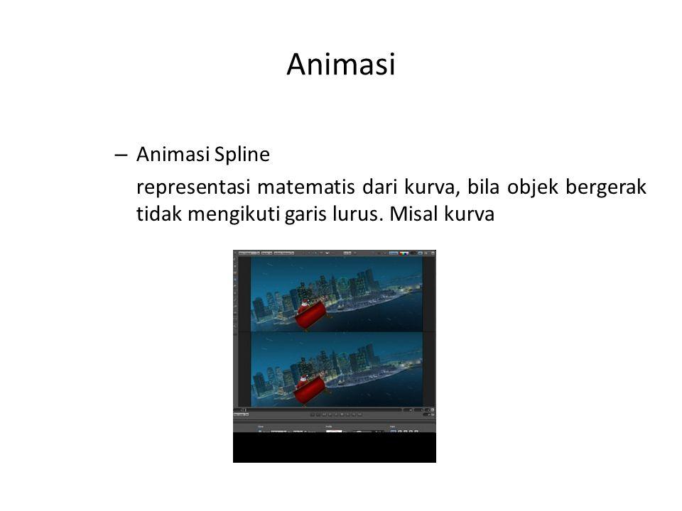 Animasi Animasi Spline