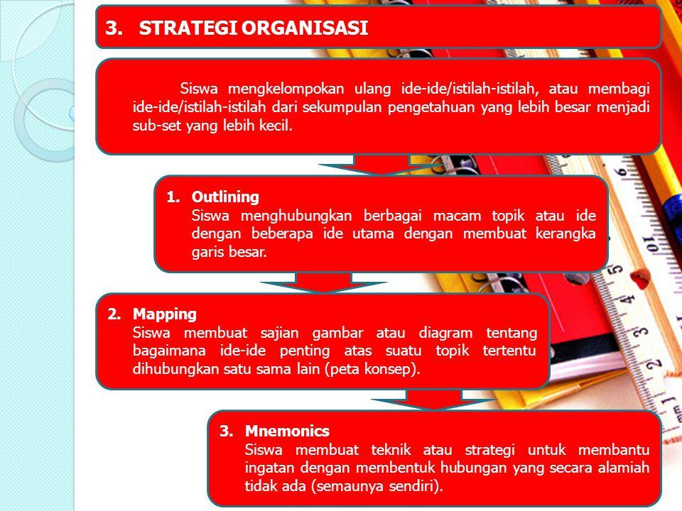 3. STRATEGI ORGANISASI