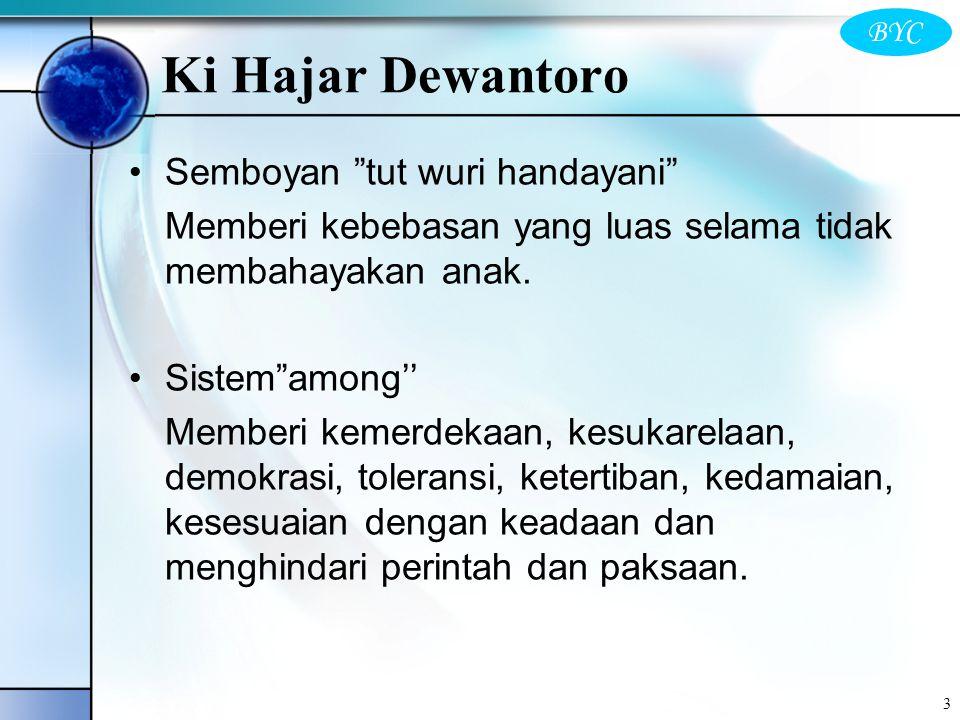 Ki Hajar Dewantoro Semboyan tut wuri handayani