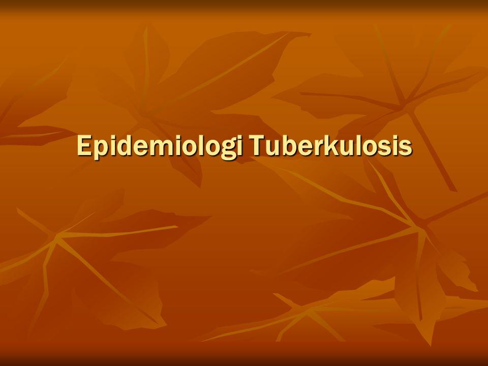 Epidemiologi Tuberkulosis