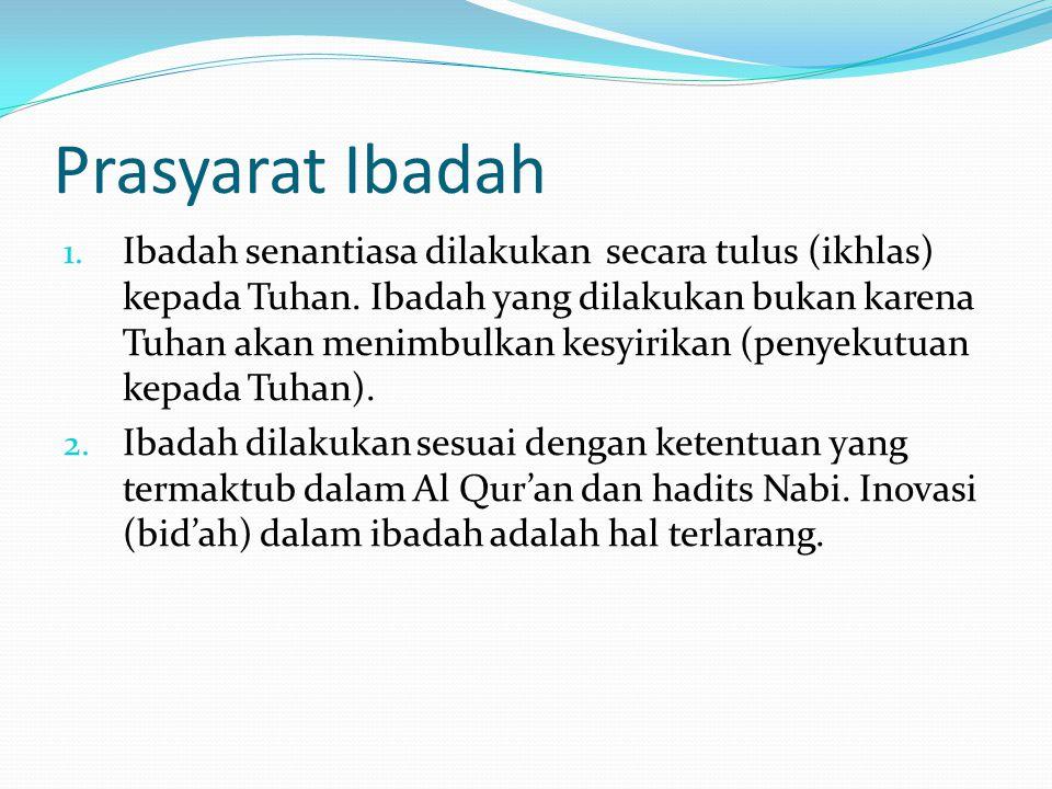 Prasyarat Ibadah