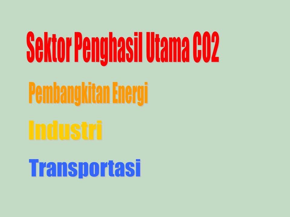 Sektor Penghasil Utama CO2