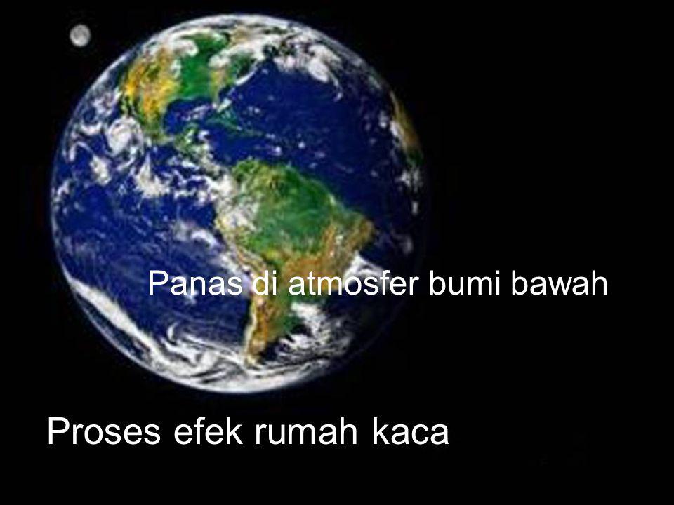 Panas di atmosfer bumi bawah