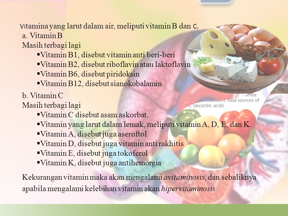 Vitamin B1, disebut vitamin anti beri-beri