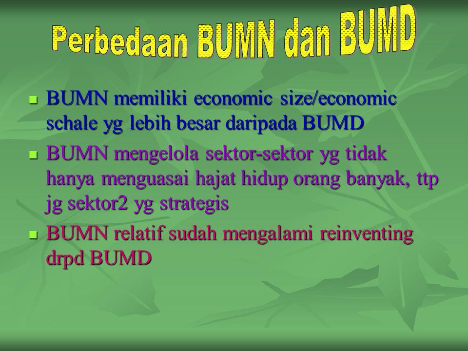 Perbedaan BUMN dan BUMD