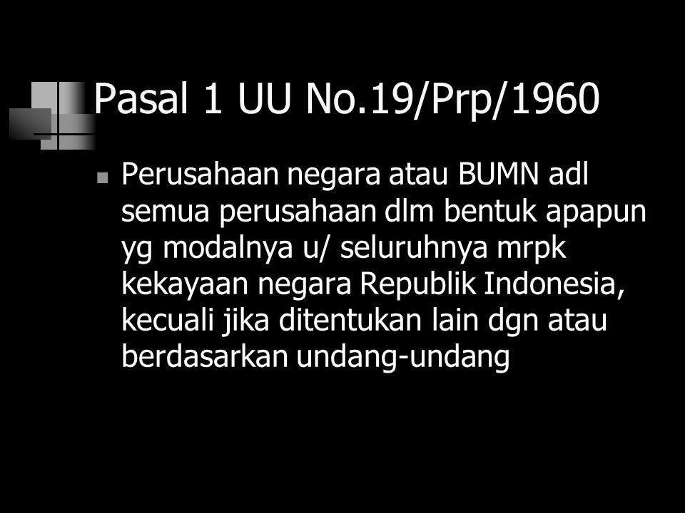 Pasal 1 UU No.19/Prp/1960