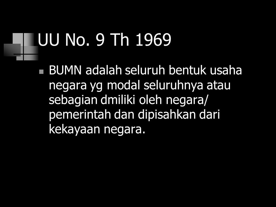 UU No. 9 Th 1969