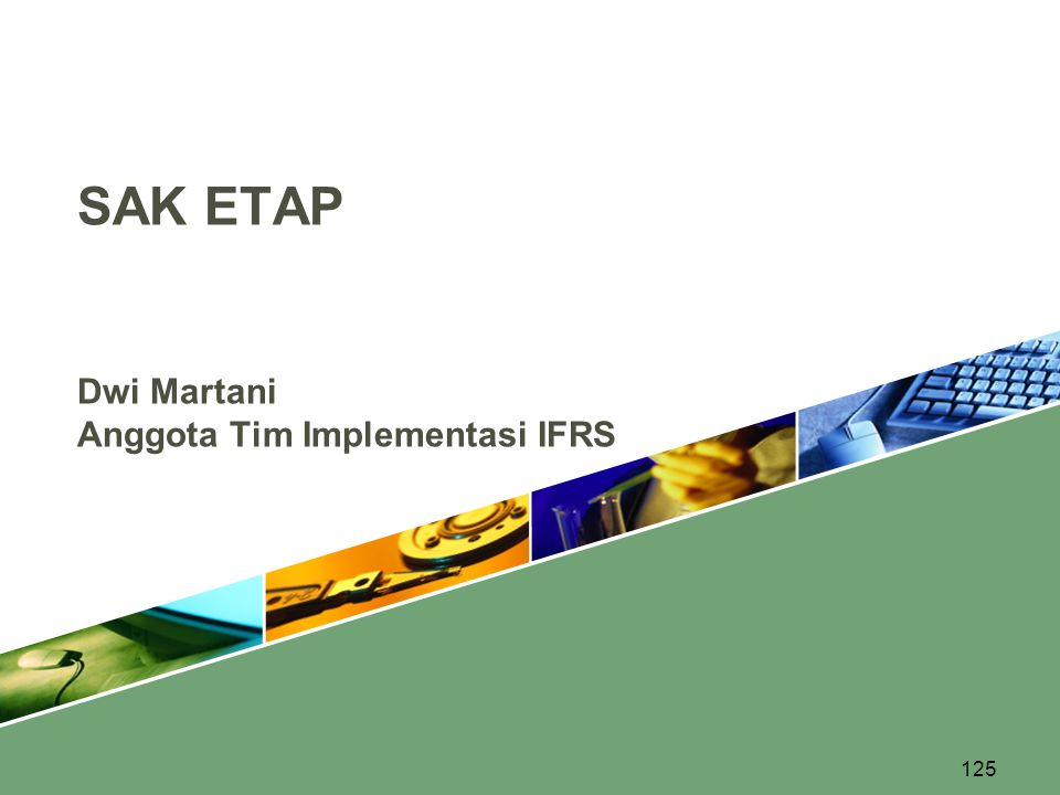 Dwi Martani Anggota Tim Implementasi IFRS