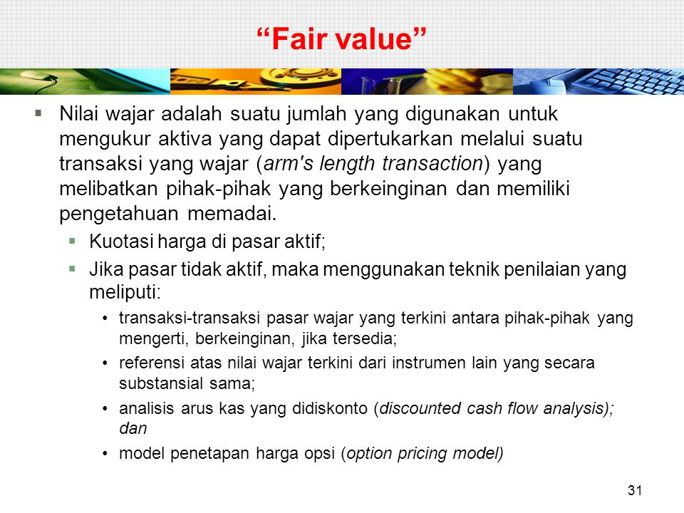 Fair value